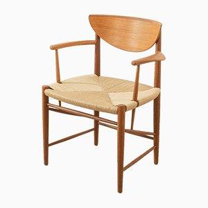 Armchair by Peter Hvidt & Orla Mølgaard-Nielsen for Søborg Møbelfabrik, 1950s