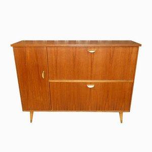 Teak Hallway Cabinet or Dresser on Legs, 1960s
