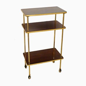 Small Vintage 3-Tier Side Table