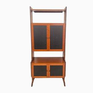 Mid-Century Modern Italian Teak Shelf or Bookcase, 1960s