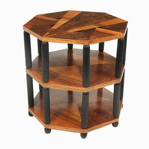Art Deco Occasional Octagonal Table, France, 1920s