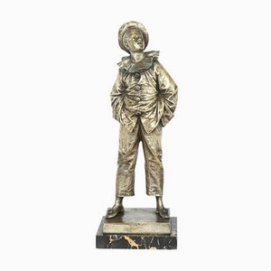 French Silver Gilt Bronze Sculpture from Bouret, 1890s