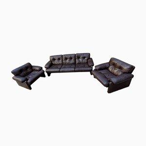 Coronado Living Room Set by Tobia Scarpa for B&B Italia, 1960s, Set of 3