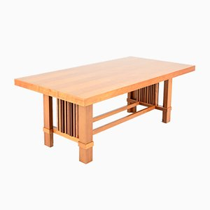 Taliesin Dining Table by Frank Lloyd Wright for Cassina