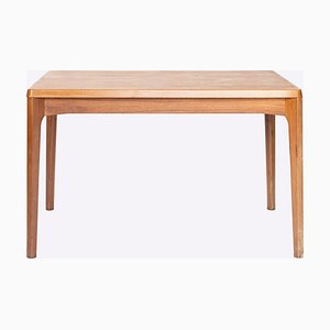 Table de Salle à Manger en Teck avec 2 Plateaux Coulissants de Vejle Stole Møbelfabrik, Danemark