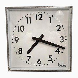 Horloge d'Usine Carrée de Brillie, France, 1950s