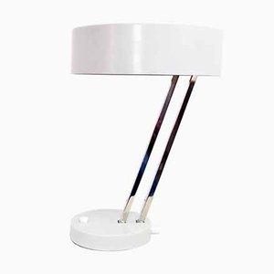 Schreibtischlampe aus Metall & Stahl von Kaiser, 1960er