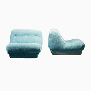 Rine Ripe Armchairs from Mime, 1970s, Set of 2