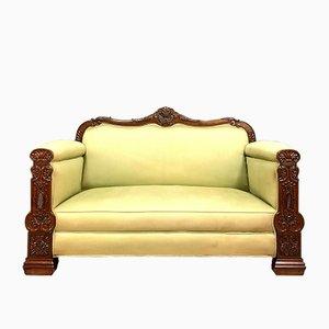 Mahogany Boudoir Bench