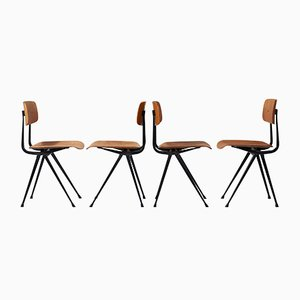Result Chairs by Wim Rietveld & Friso Kramer for Ahrend De Cirkel, Set of 4