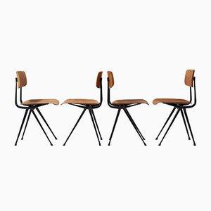 Result Stühle von Wim Rietveld & Friso Kramer für Ahrend De Cirkel, 4er Set