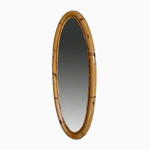 Wicker Mirror, 1960s