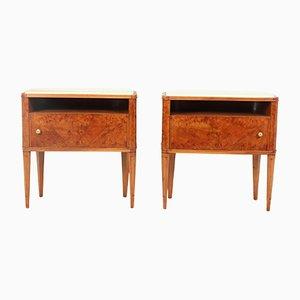 Mid-Century Italian Side Cabinets, Set of 2