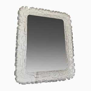 Large Backlit Mirror from ME Leuchten, Germany, 1960s