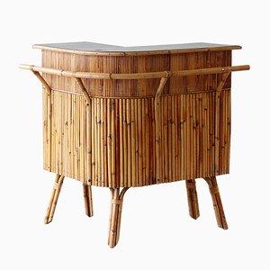 Mid-Century Bambus Bar