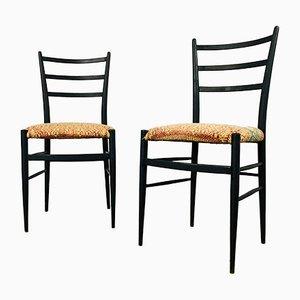 Vintage Esszimmerstühle von Gio Ponti, 1930er, 2er Set