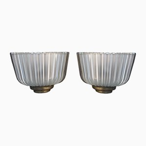 Wall Lights by Archimede Seguso, 1930s, Set of 2