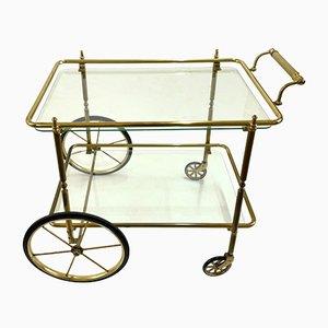 Brass Bar Cart, 1970s
