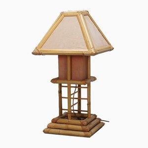 Lantern Bamboo Lamp, 1970s