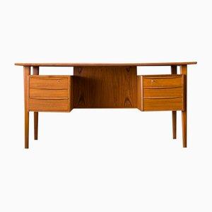 Danish Teak Desk by Peter Løvig Nielsen for Hedensted Møbelfabrik, Denmark, 1973
