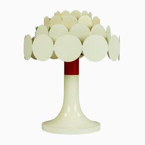 White Reading Light from Doria Leuchten, 1960s