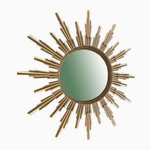 Gewölbter Hexen Spiegel aus Metall