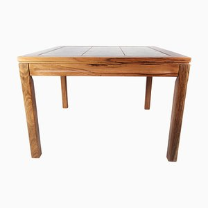 Rosewood Coffee Table with Danish Tiles, 1960s