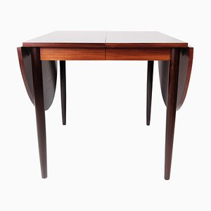 Dining Table in Rosewood with Extension Plates by Arne Vodder, 1960s
