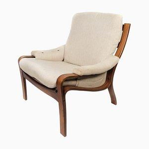 Danish Rosewood Easy Chair, 1960s