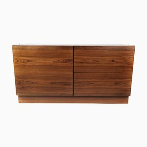Danish Rosewood Low Chest of Drawers, 1960s