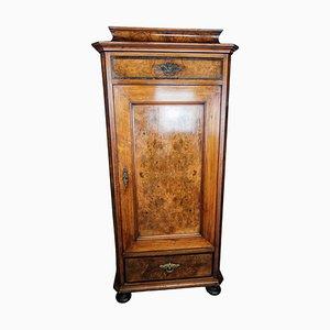 Tall Walnut Cabinet, 1850s