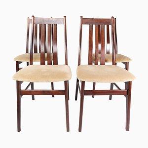 Esszimmerstühle aus Mahagoni von Farstrup, 1960er, 4er Set