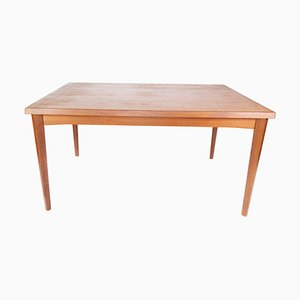 Danish Teak Dining Table with Extension Plates, 1960s
