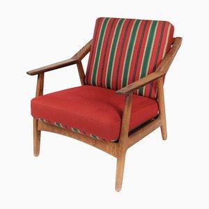 Oak Armchair by H. Brockmann Petersen, 1960s