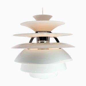 PH Snowball Lampe mit weiß lackierten Schirmen von Poul Henningsen für Louis Poulsen