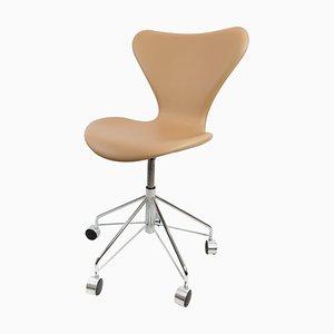 Chaise de Bureau Modèle 3117 par Arne Jacobsen pour Fritz Hansen