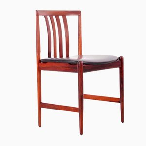 Mid-Century Dining Chairs in Rio Rosewood from Westnofa, Set of 4