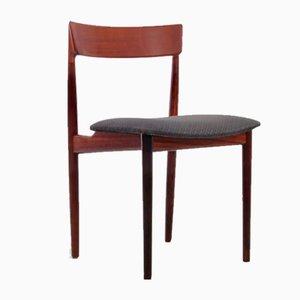 Skandinavische Mid-Century Stühle aus Teak von Harry Rosengren Hansen für Brande Møbelindustri, 4er Set
