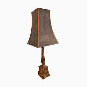 Floor Lamp with Ceramic Base