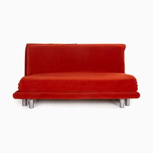 Multy Fabric Red Three-Seater Couch from Ligne Roset