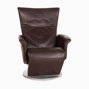 5700 Brown Leather Armchair by Rolf Benz