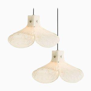Model LS185 Pendant Lamp by Carlo Nason for Mazzega