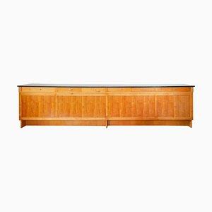 Credenza grande in legno di frassino, anni '60