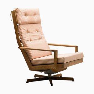 Eichenholz Sessel von Madsen und Schubel