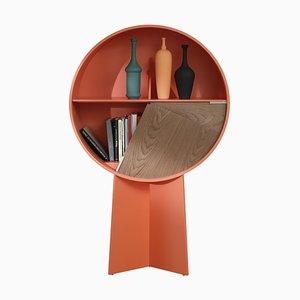 Orangefarbener Luna Schrank von Patricia Urquiola