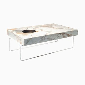 Großer Scoop Tisch aus Plexiglas von Stefano Belingardi Clusoni