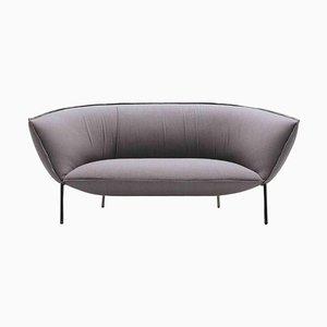 Black Chromed You Sofa by Luca Nichetto