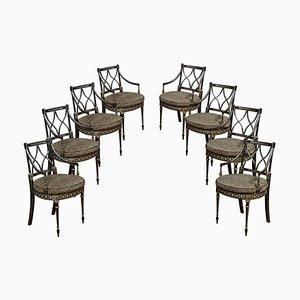 Regency Esszimmerstühle, 8er Set