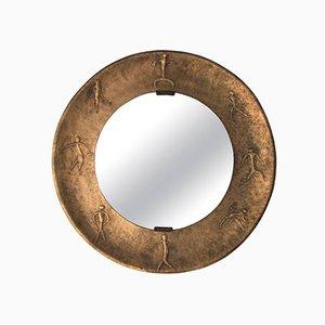 Espejo Etruscan italiano de Angelo Bragalini, años 70