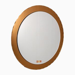 Round Mirror in Beveled Style by Max Ingrand for Planilux